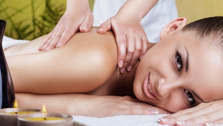 Schulter-Nackenmassage